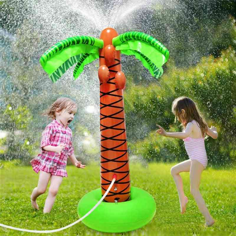 Water Sprinkler-inflatable Coconut Palm Tree