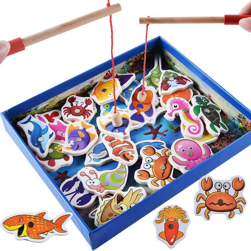 Wooden Magnetic Fish