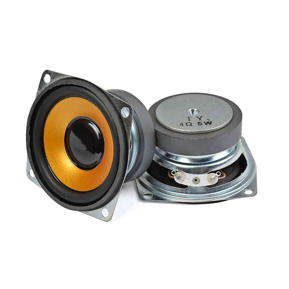 4-ohm 5w, Full Range Loud-speaker For Diy Home/theater Sound System