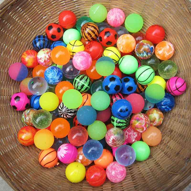 Mixed Bouncy, Solid Floating Rubber Balls