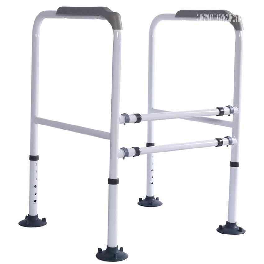 Folding Walker- Safety Grab Handrail For Disabled/elderly/pregnant Women