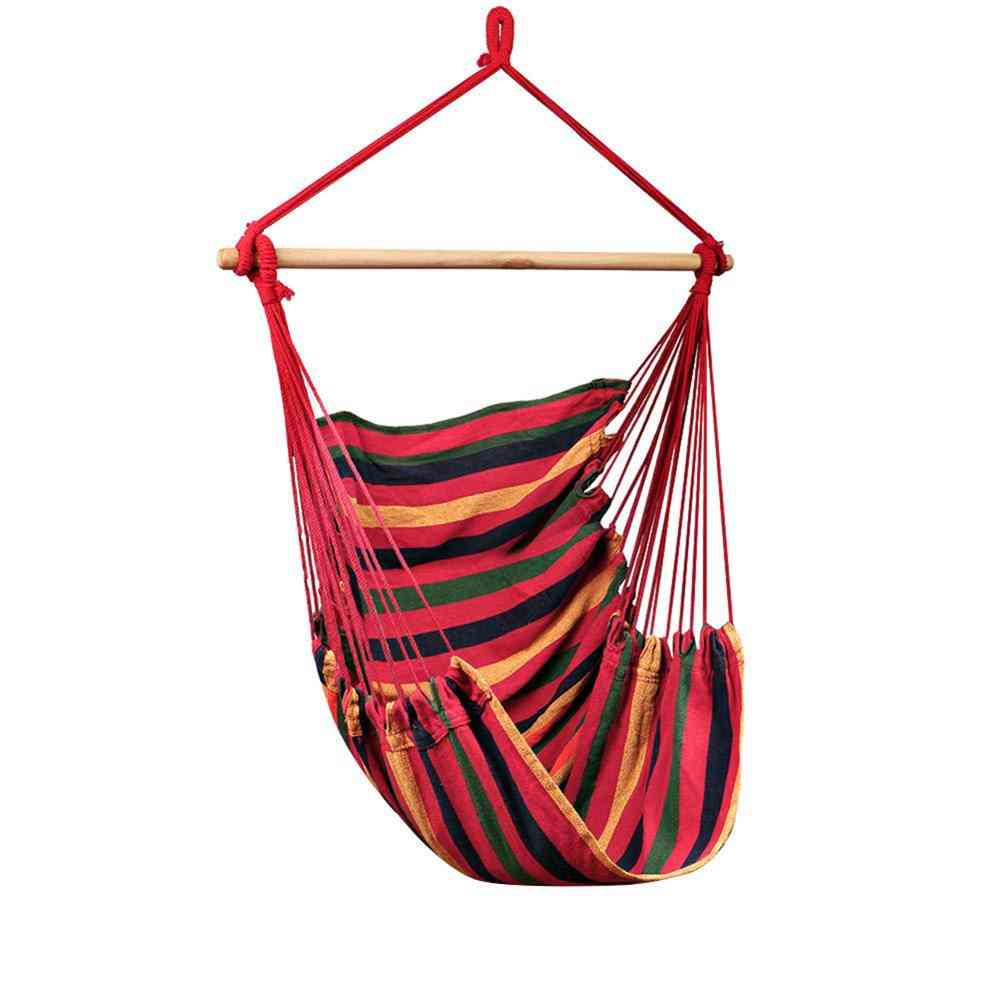 Hammock-hanging Swing Chair For Camping, Outdoor Garden