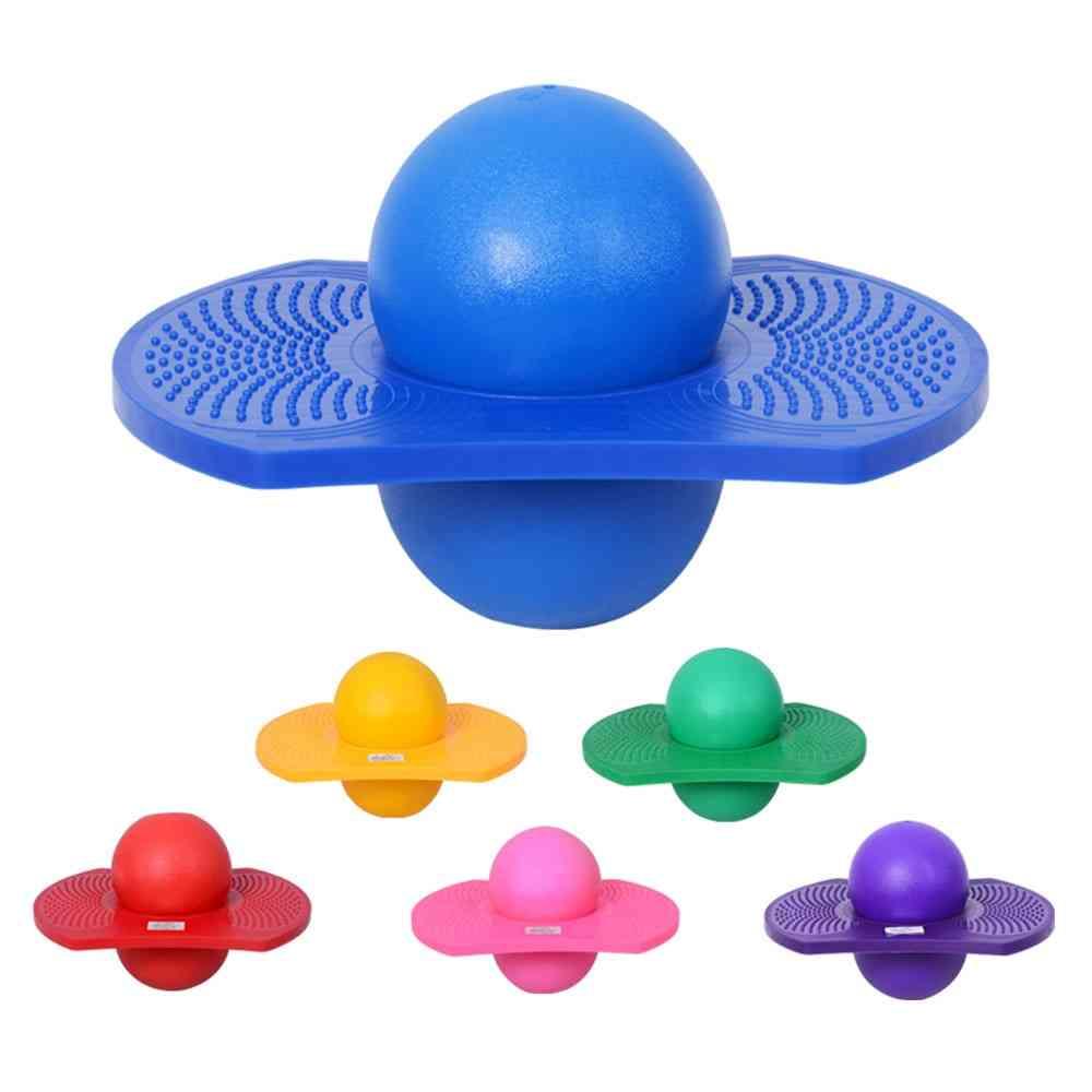 Bouncing Ball And Board - Balance Jump Toy