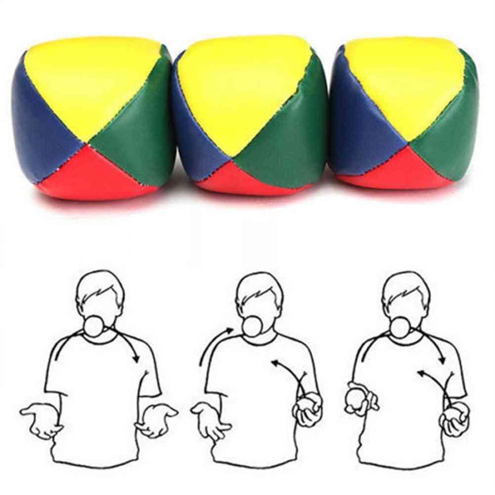 Juggling Balls Learn To Beginner Kit Circus - Outdoor Fun Kids Interactive