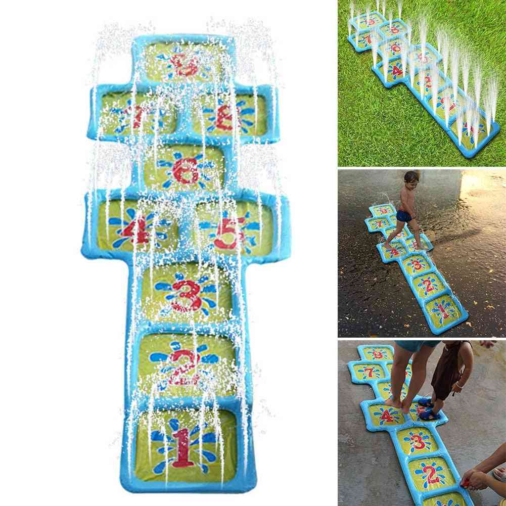 Inflatable Water Spray-number Print Game Pad For