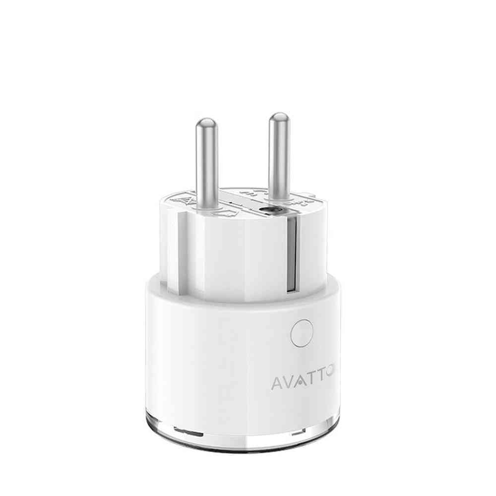 Mini Standard 16a Eu Smart Wifi Plug With Power Monitor