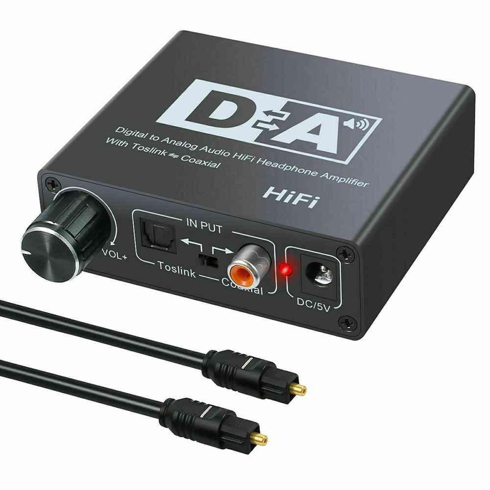 Hifi Dac Amplifier, Digital To Analog Audio Converter