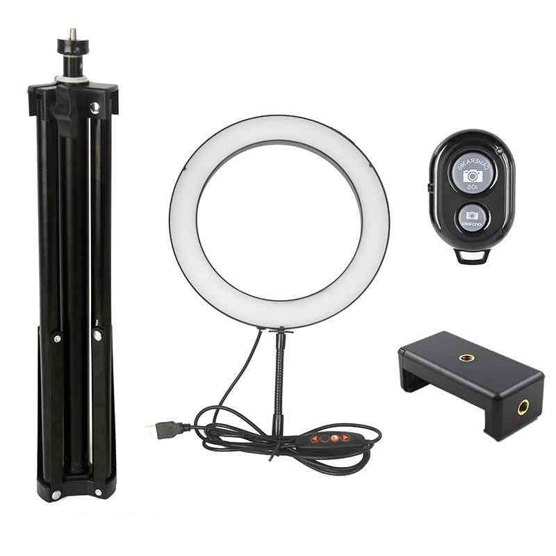 Camera Ringlight And Tripod Stand Kit