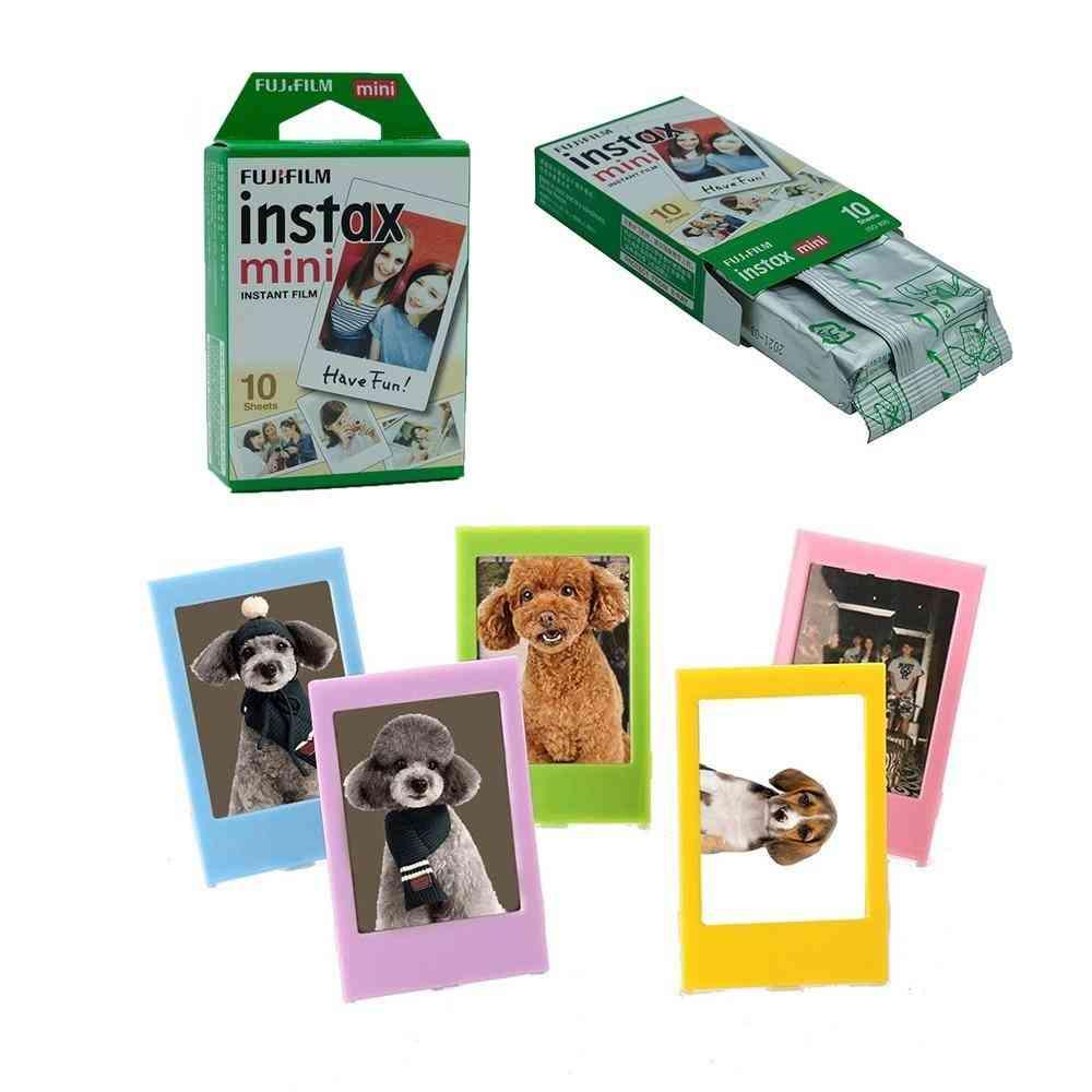 Instax Mini Film Sheets, White Edge Films