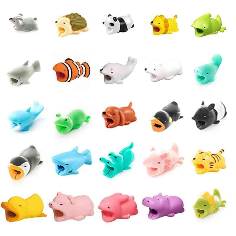 Pvc Soft, Animal Design-cable Protector Winder/organizer