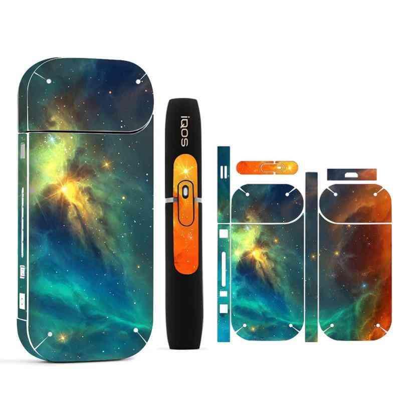 Galaxy Sticker For Iqos Sticker Printing Skin