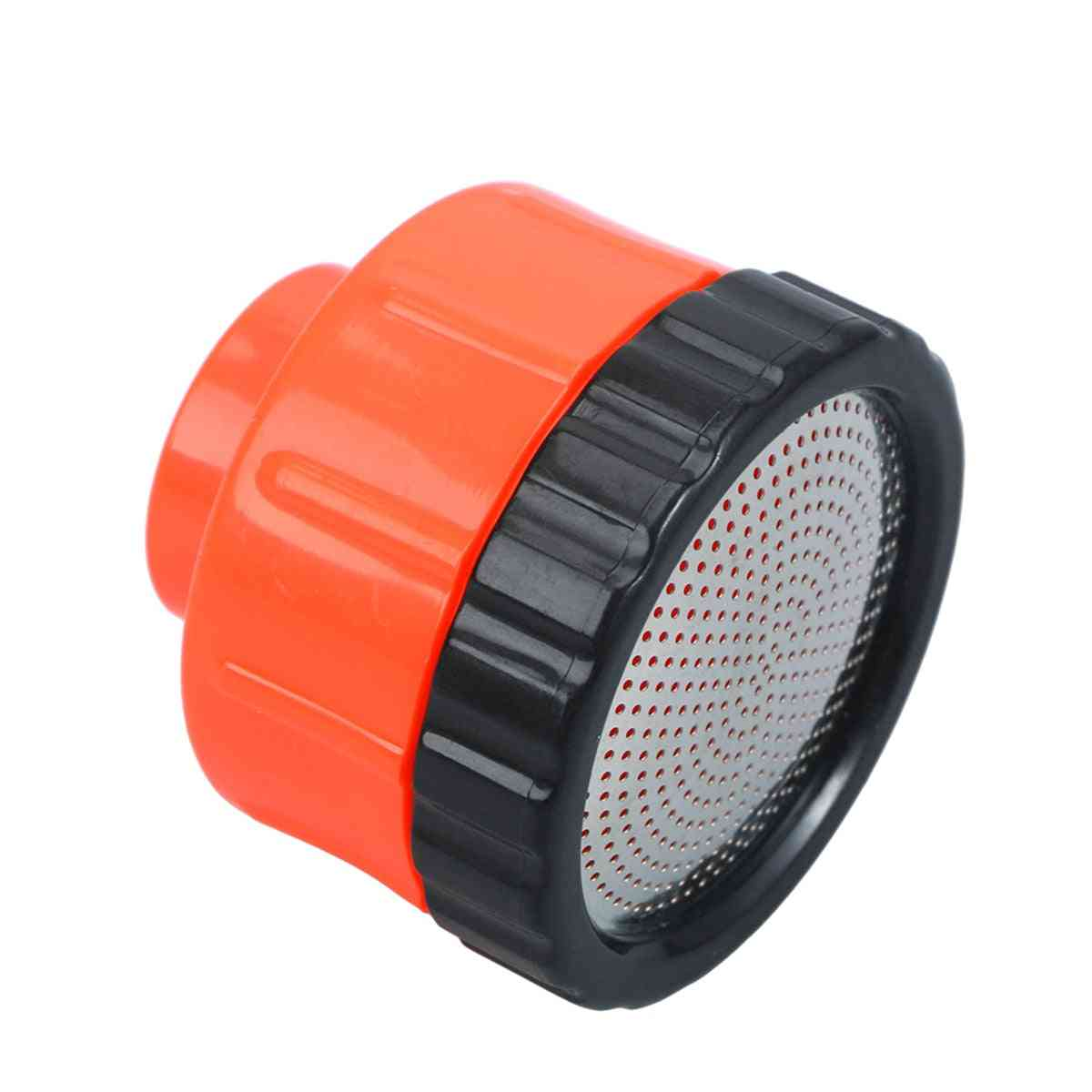 Plastic Water Breaker Nozzle With 400 Tiny Holes And Stainless Steel Disc