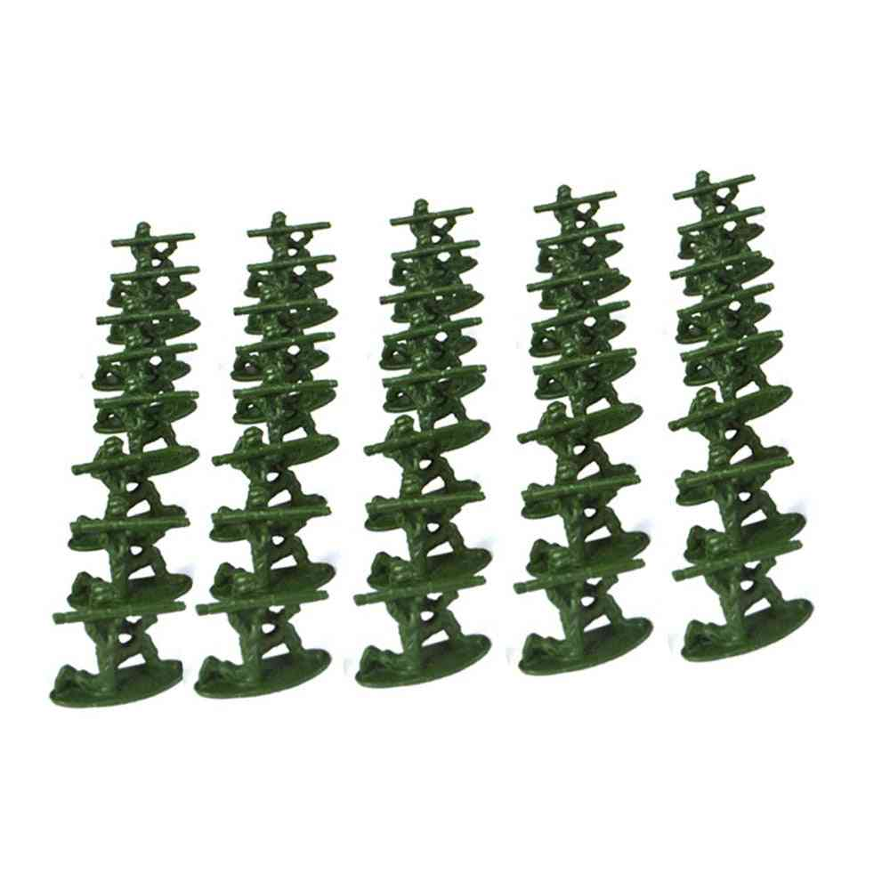 Mini Military Soldier Model, Plastic Toy - Figures Playset Toy