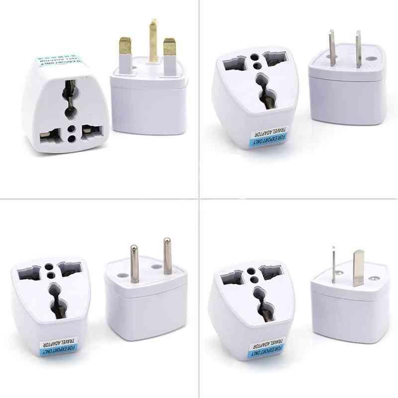 Universal Uk/us/au To Eu Ac Power Socket Plug - Travel Electrical Charger Adapter Converter