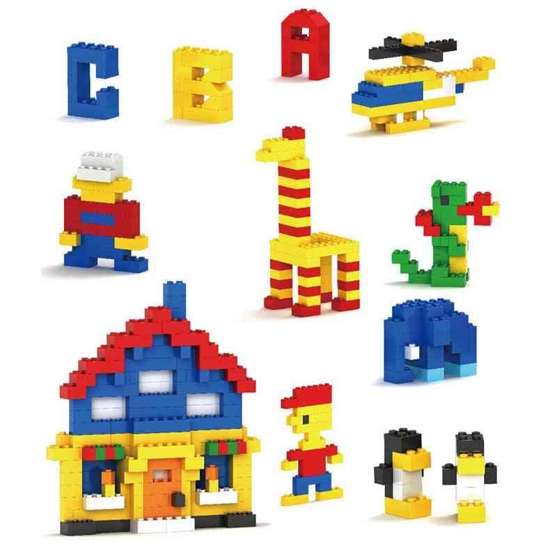 Building Blocks - City Diy Creative Bricks Model Figures Educational
