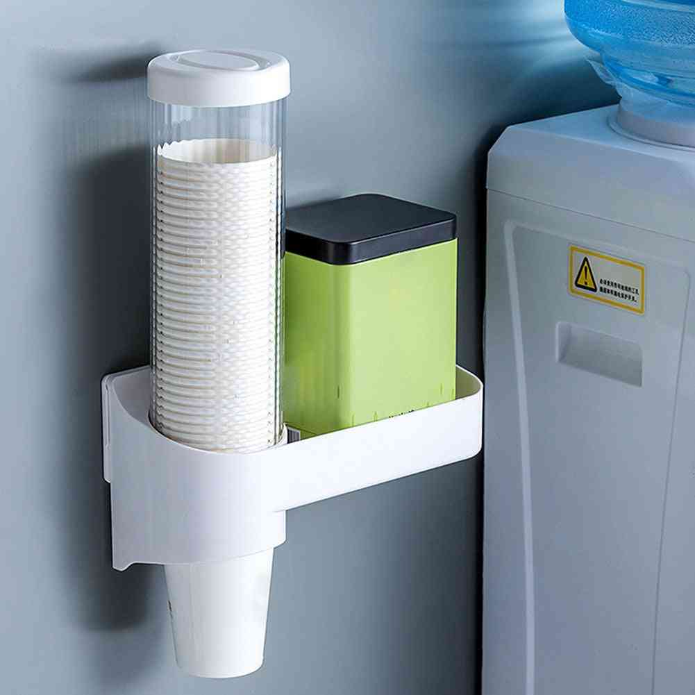 Disposable Cup And Tumbler Dispenser For Home, Office, Hospital Use With Holding Capacity Of 36 Pieces