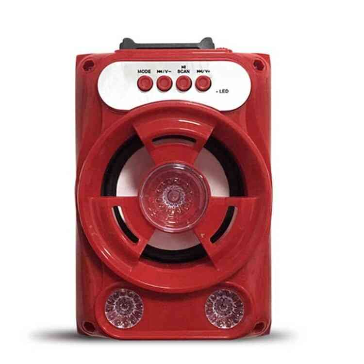 Portable Bluetooth Speaker - Wireless Loudspeaker Sound System