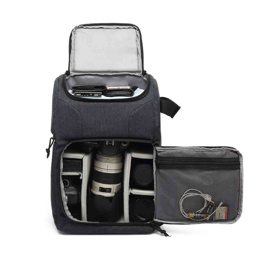 Waterproof Dslr Portable Travel  - Photo Camera Backpack -