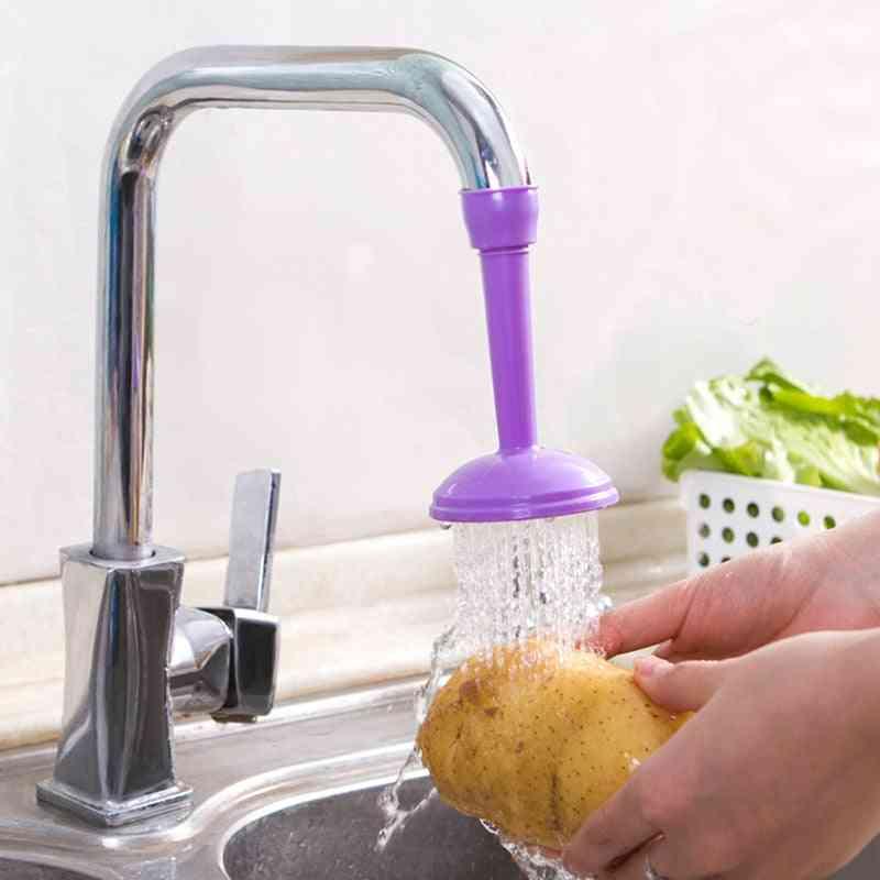 360 Degree Adjustable, Flexible Kitchen Faucet Tap- Extender Shower