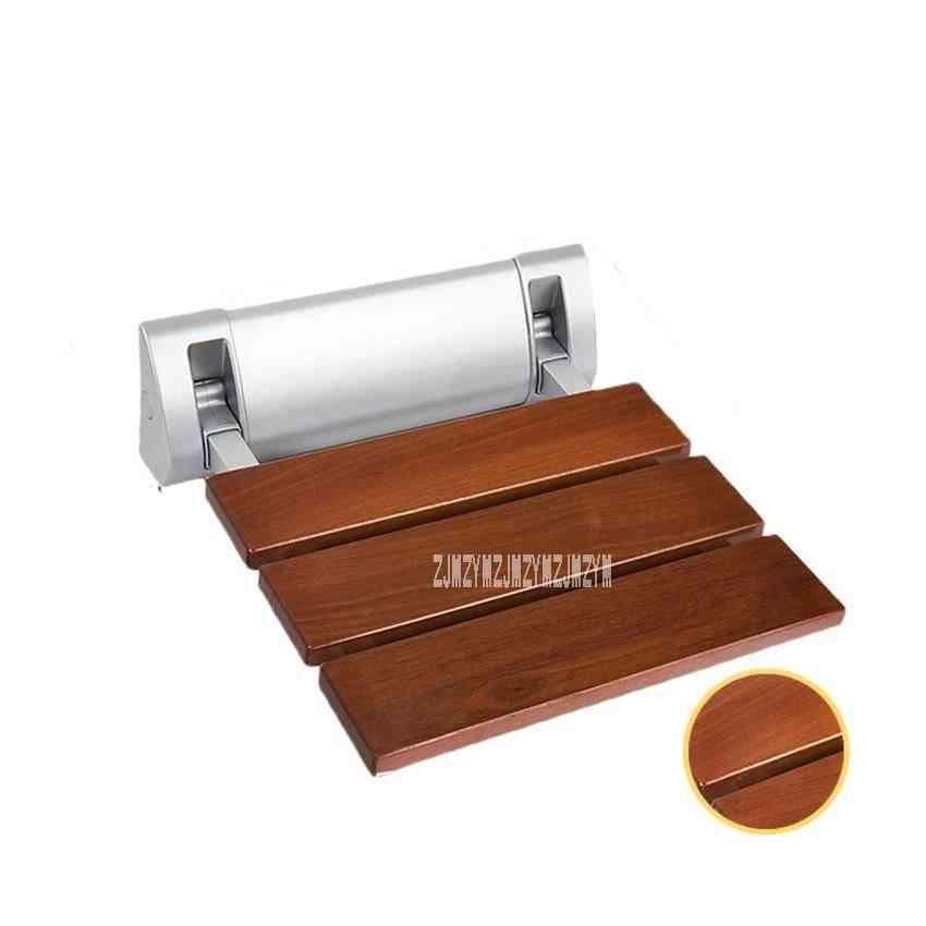 Strengthen Solid Wood Bath Shower Folding Seat