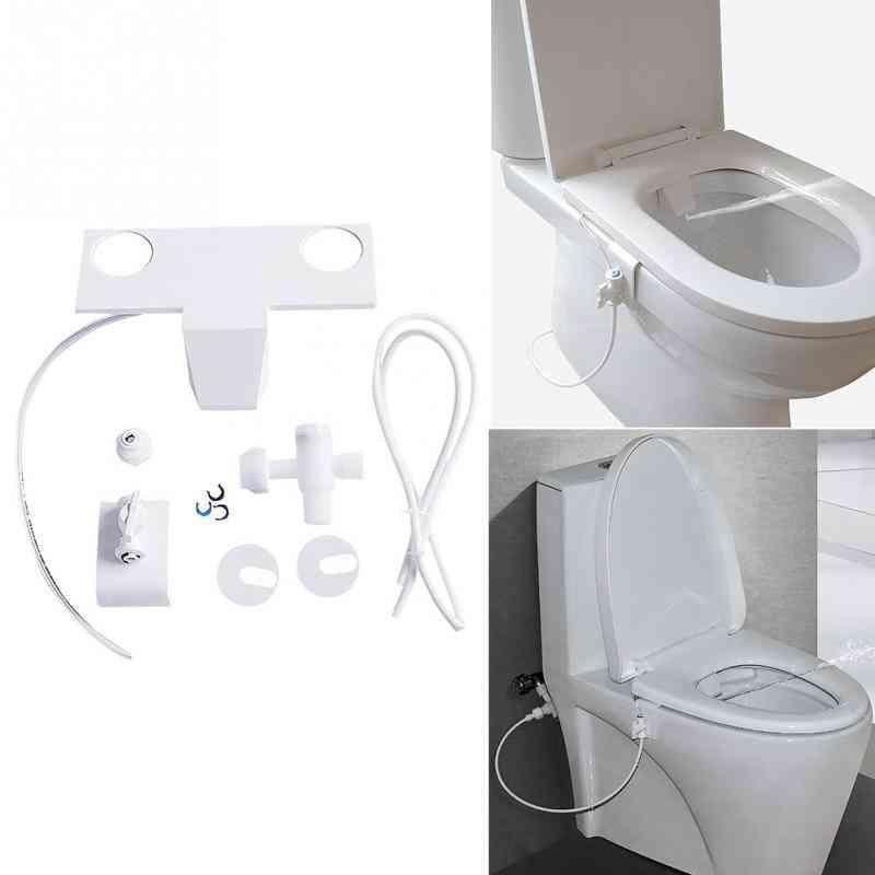 Toilet Flushing Sanitary Device Bidet - Water Spray Seat