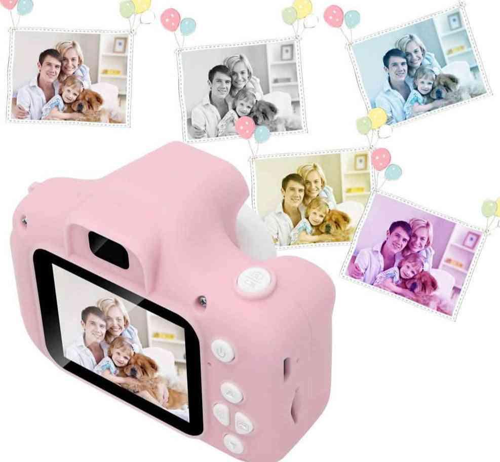 Mini Pink Digital Hd Camera, 2