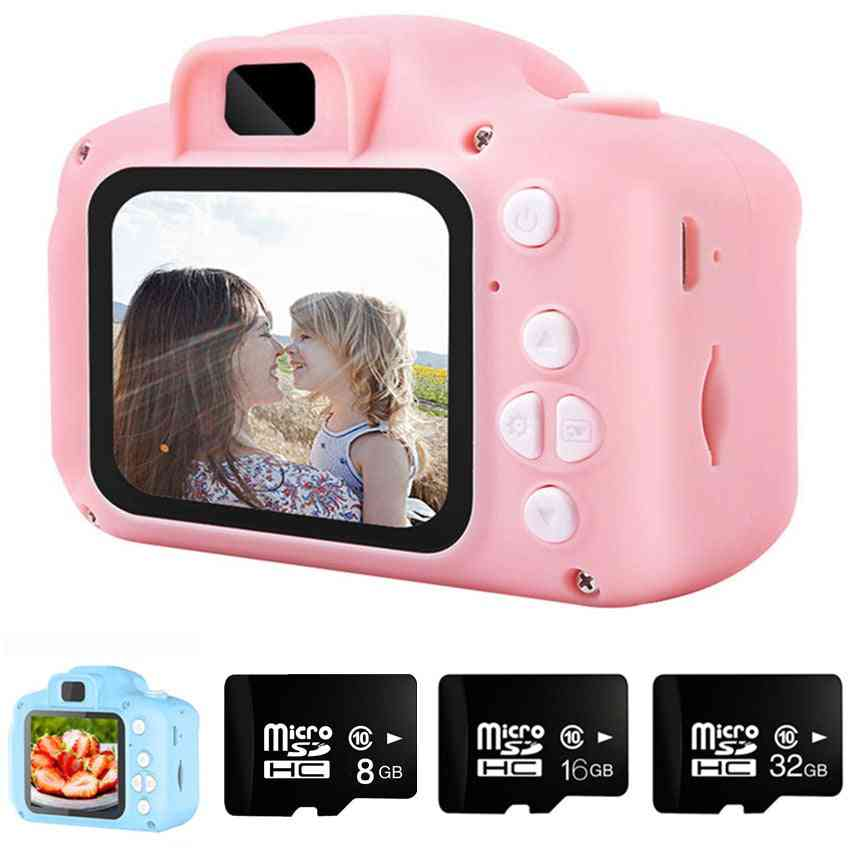 Children's Camera With 16gb Tf Card