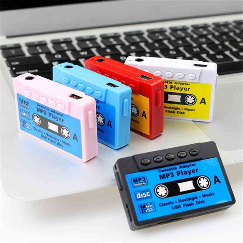 Mini Mp3 Player, Portable Cassette For  Music