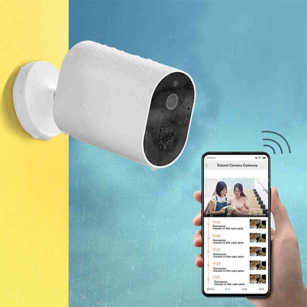 Camera Wireless With Battery Remote Voice Intercom For Outdoor