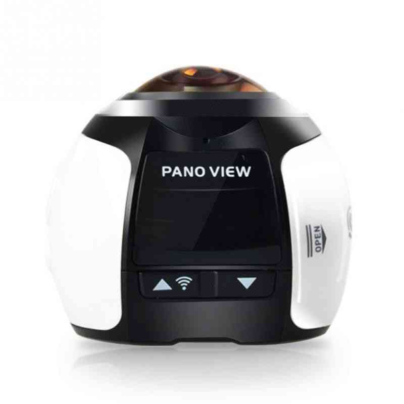Vr Wide Angle Hd Waterproof Mini Dv Sports Camera - Wifi 4k 360 Degree Panoramic