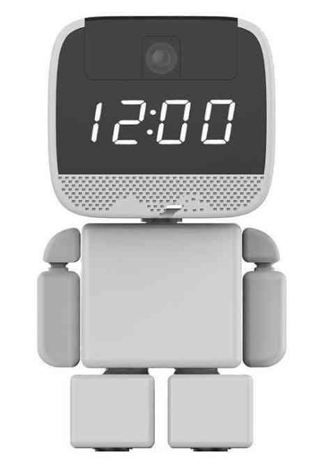 Ip Camera Wireless Robot Wi-fi Clock