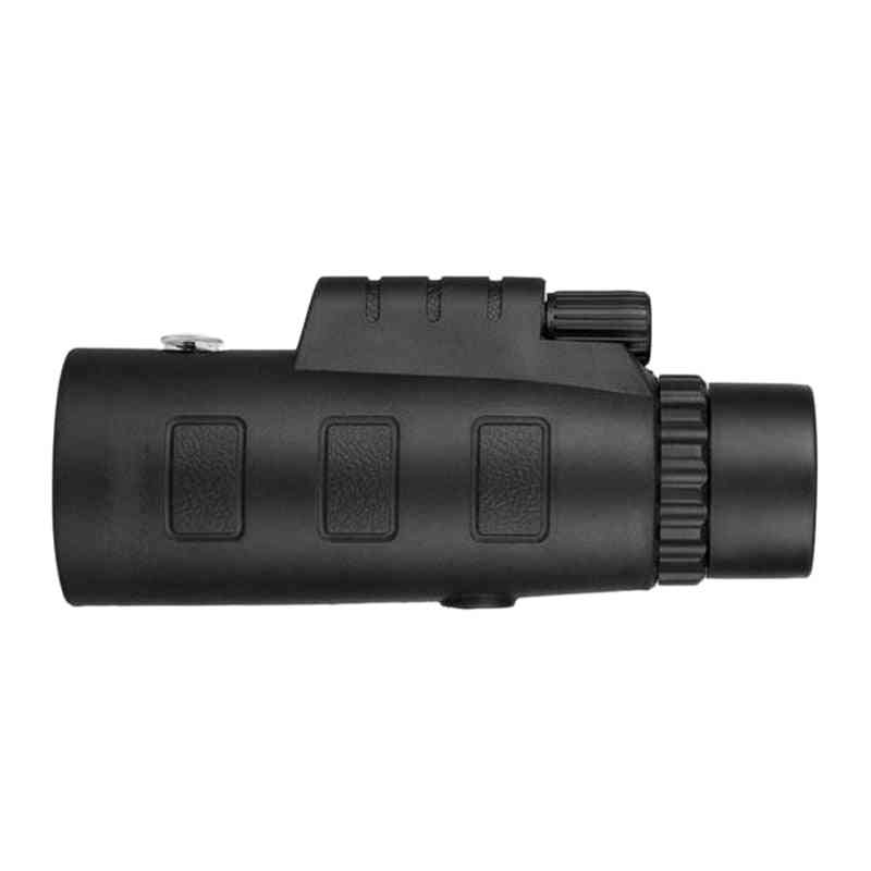 Portable High Power Hd Telescope - Monoculars Night Vision Zoom Optical Hd Lens