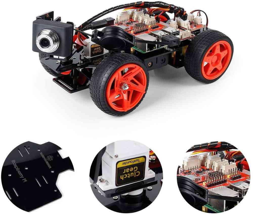 Graphical Visual Programming, Remote Control Electronic Toy With Camera