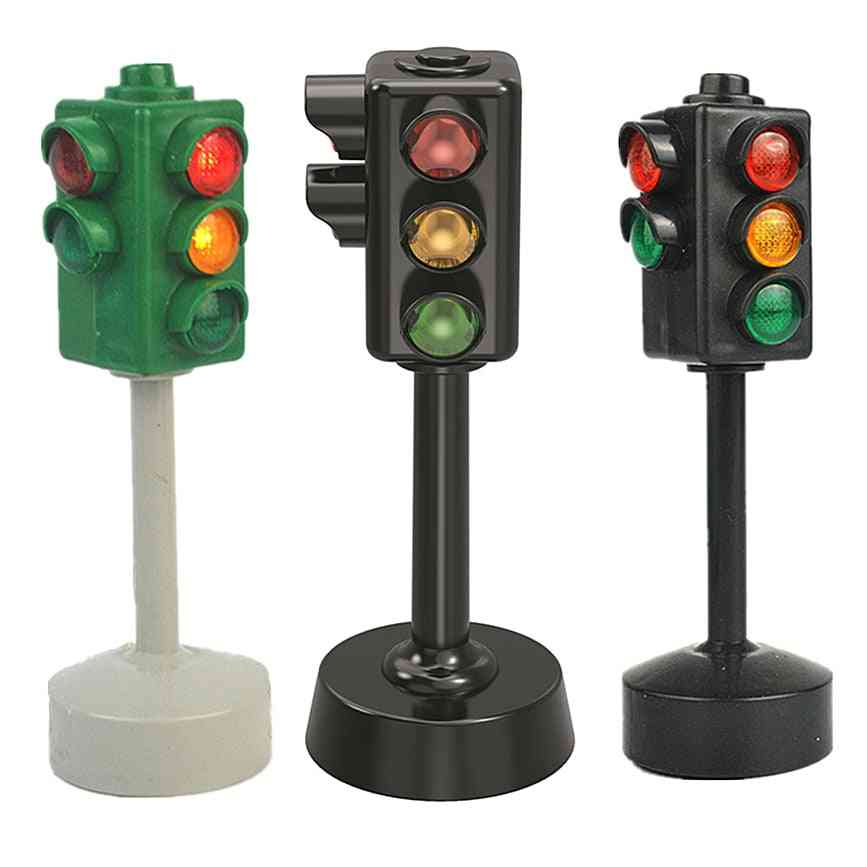 Mini Traffic Signs Road Light Block With Sound ,  Safety Puzzle
