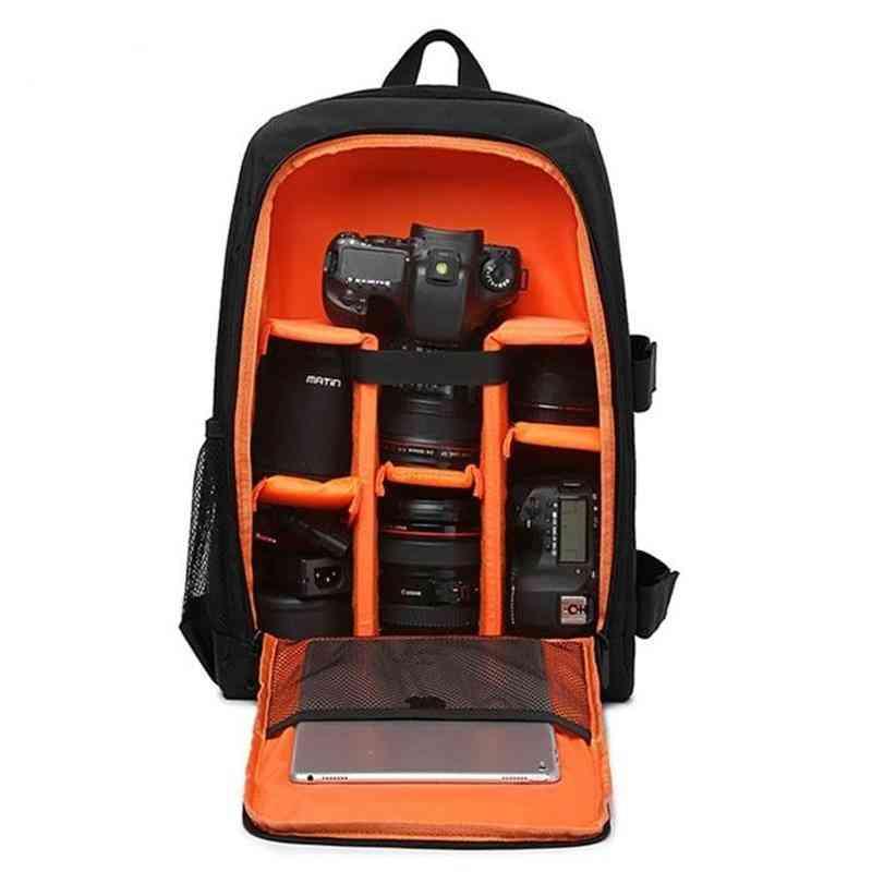 Waterproof Dslr Backpack, Video Digital Camera Bag Multi-functional Case