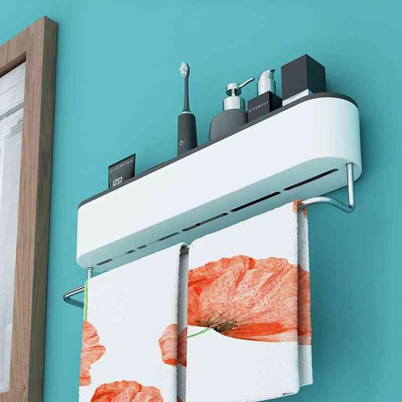 Multifunctional Towel Rack With Smart Storage