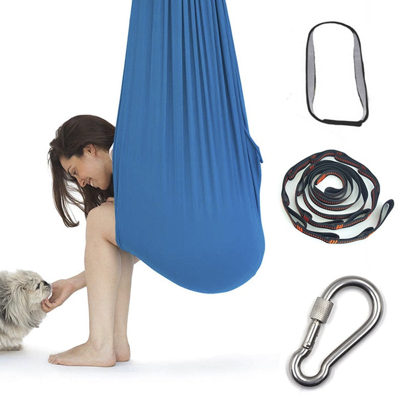 Cotton Swing Hammock For Autism Therapy Cuddle Up