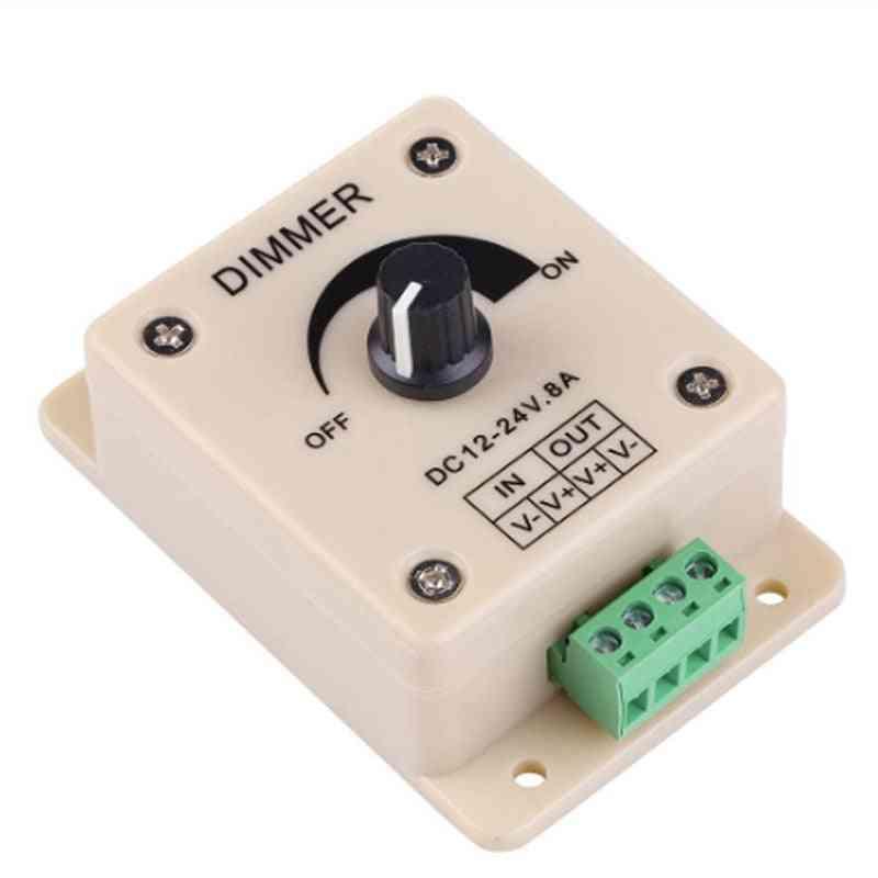 Led Dimmer Switch - Voltage Regulator Adjustable Controller Strip Light Lamp