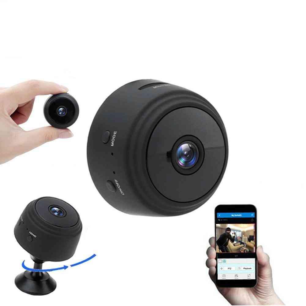 A9 1080p Wifi Mini Camera - Home Security P2p Wifi And Remote Monitor Phone App
