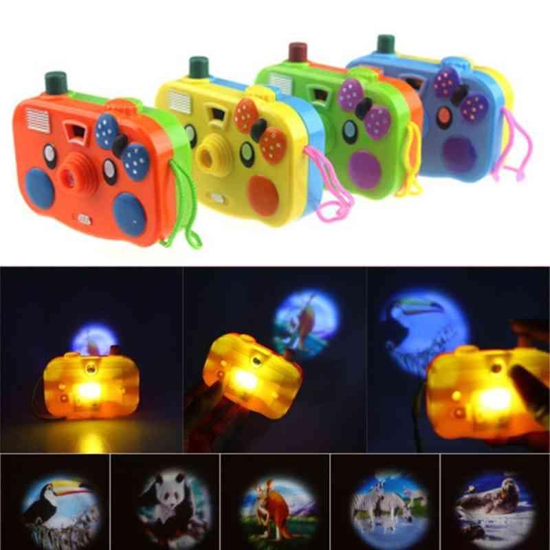 Animal Projection, Mini Camera Toy With Led Flashing Light