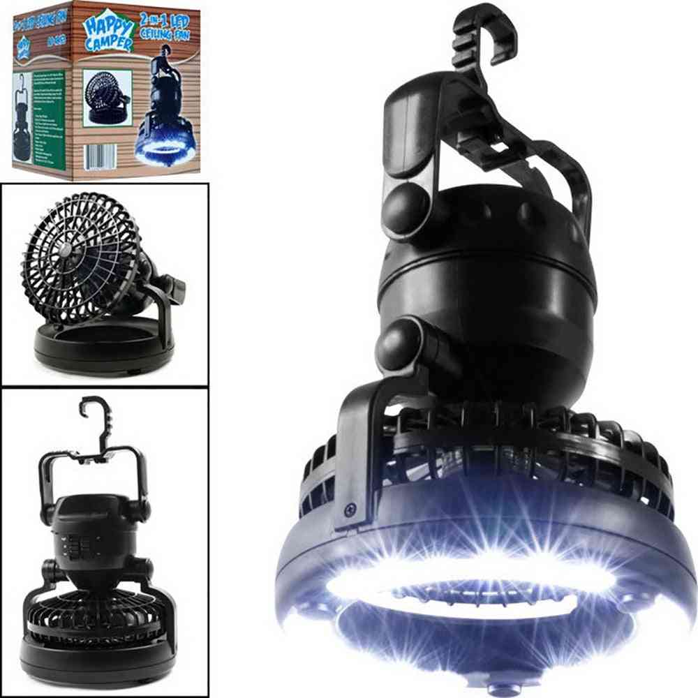 Portable Led Camping Lantern With Flashlight Ceiling Fan