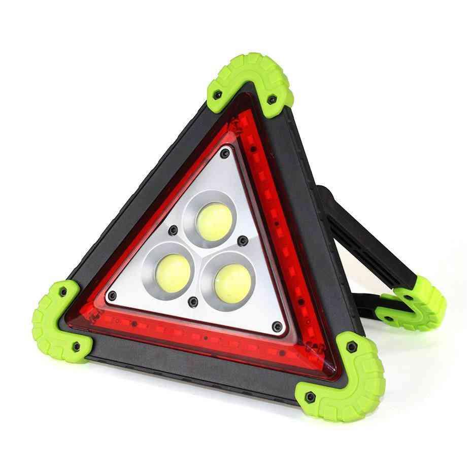 Triangle Shaped, Portable Flood Lamp- Cob Led Emergency Light