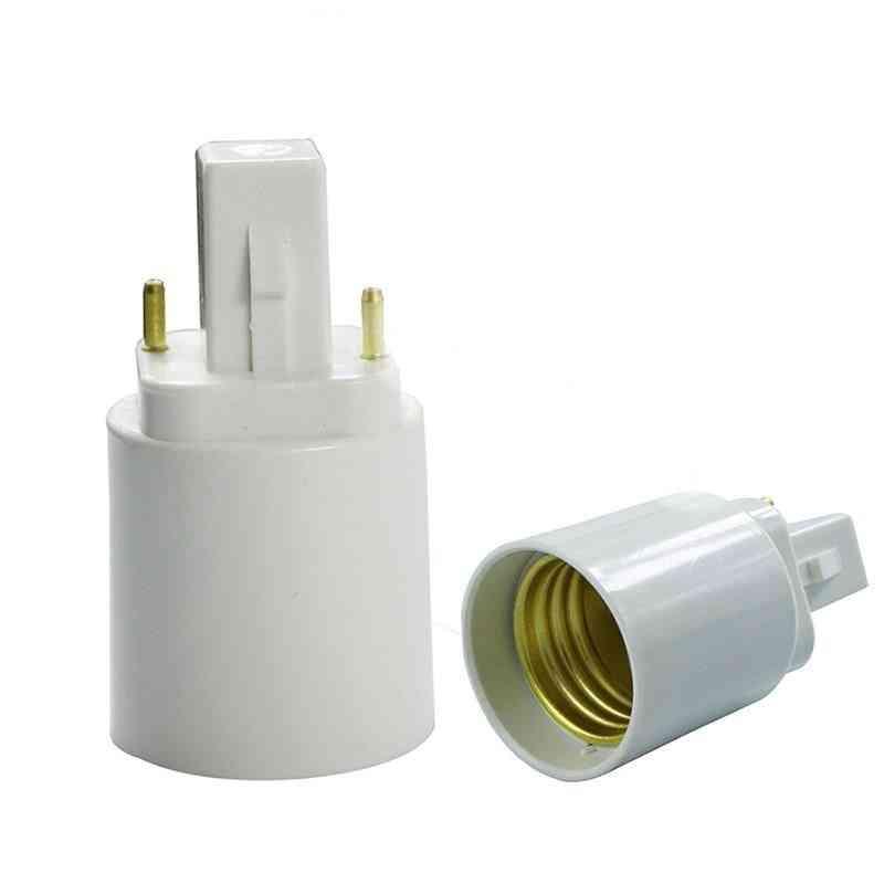 G24 To E27 Adapter Converter For Led/ Halogen / Cfl Light Bulb Lamp