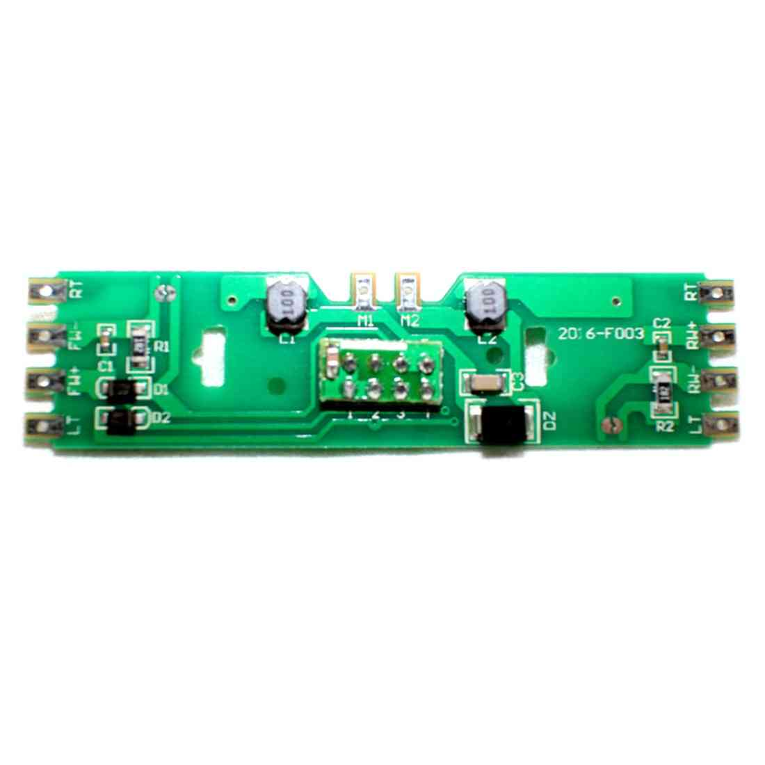 1:87 Pcb Board Part With Resistance For Ho Scale