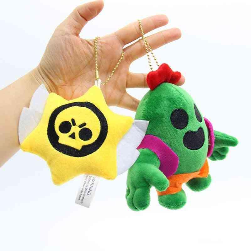 Soft Stuffed And Plush-puppets Keychain