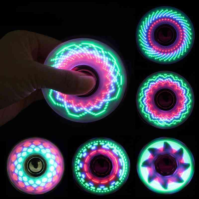 Creative Led Light, Fidget Spinner, Stress Relief