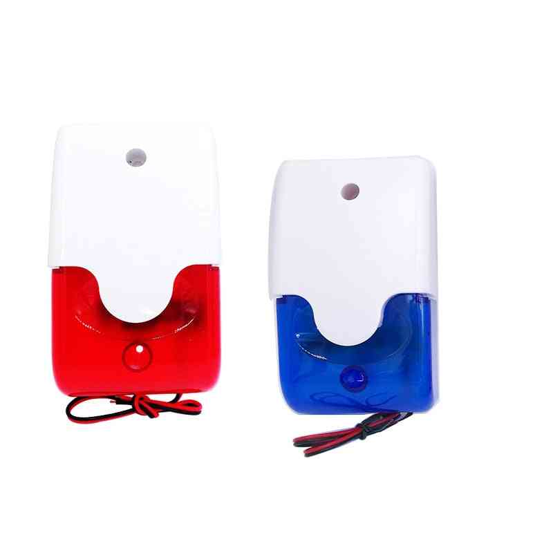 Mini Strobe Siren Indicator Light And Sound Alarm