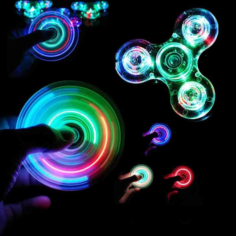 Glow In Dark, Figet Spiner - Stress Relief
