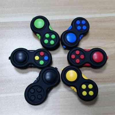 Plastic Stress Reliever, Hand Fidget - Pad Key Mobile Phone Toy