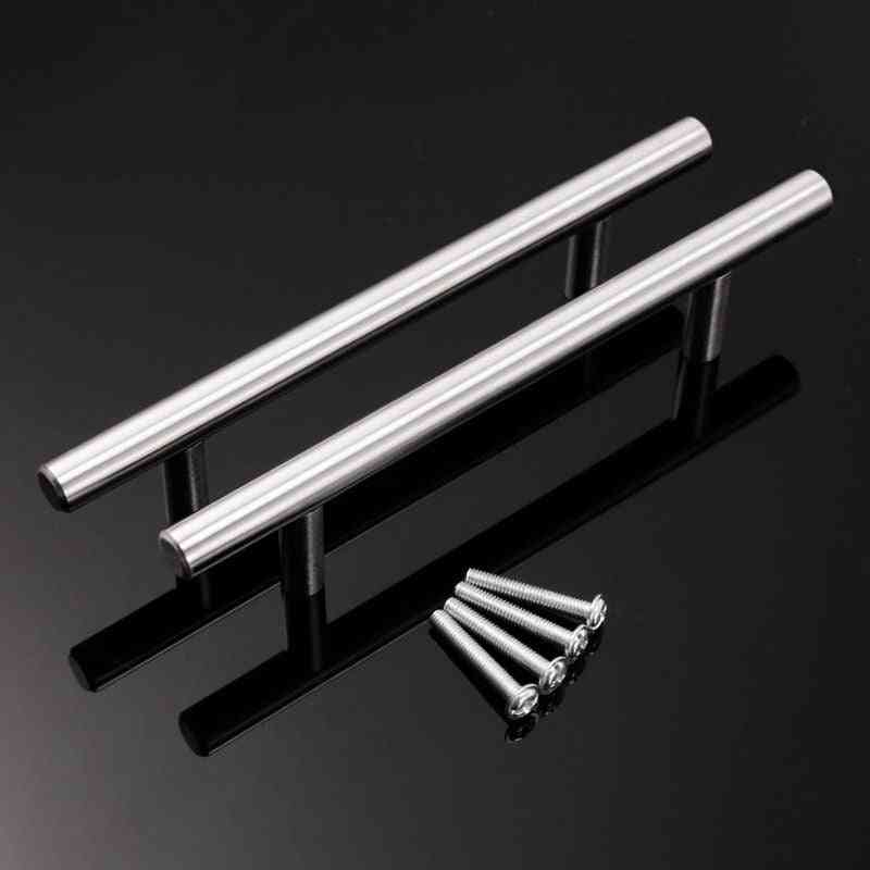 Stainless Steel, T Type Pull Handle For Kitchen/office/bedroom Furniture